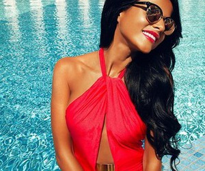 summer, red, and beauty image