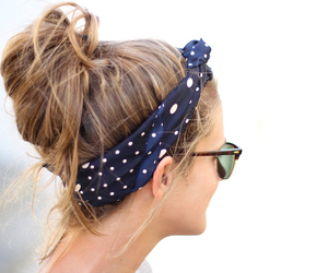 hair, summer, and sunglasses image