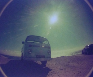car, fisheye, and kombi image