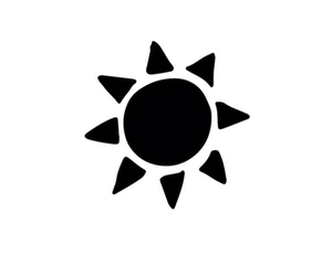 summer and sun image