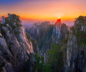 china, landscapes, and photography image