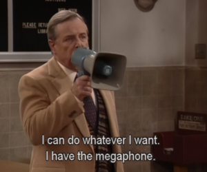 funny, megaphone, and boy meets world image
