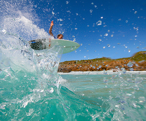 surf, beach, and photography image