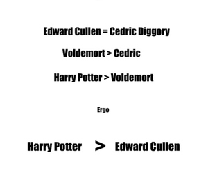 edward cullen, words, and funny image