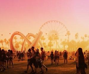 coachella, summer, and festival image