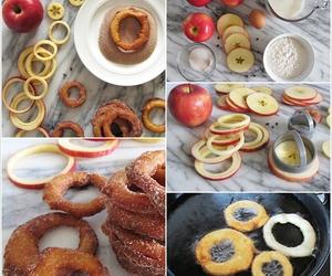apple, diy, and food image