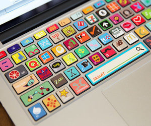 funny, cute, and keyboard image