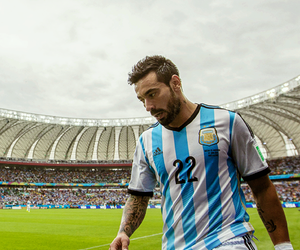 football, world cup, and lavezzi image