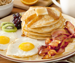 breakfast, pancakes, and food image