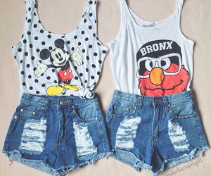 outfit, shorts, and mickey image