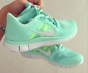 running, shoes, and cute image