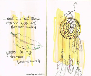 drawing, Dream, and dream catcher image