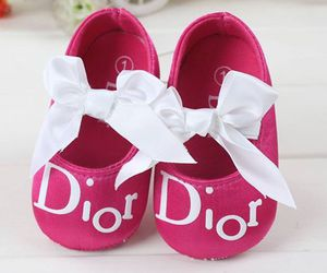 baby shoes, dior, and lovelly image