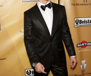 golden globe awards, handsome, and happy image