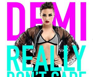 demi lovato, really don't care, and perfect image