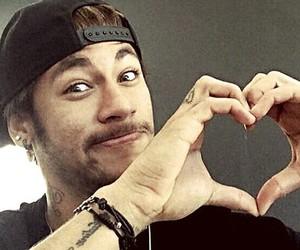 neymar, heart, and neymar jr image