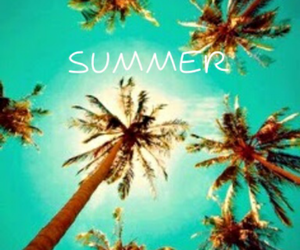 beach, summer, and summer time image