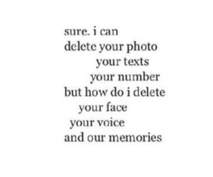 black and white, memories, and qoute image