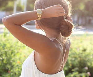 fashion, summer, and hairstyle image