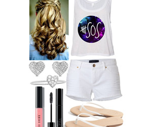blonde, heart, and Polyvore image