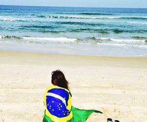beach, brasil, and brazilian image