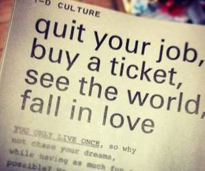 yolo, love, and ticket image