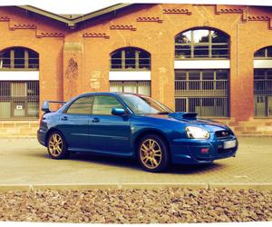 blue, cars, and subaru image