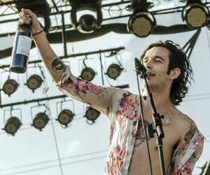 the 1975, band, and matthew healy image