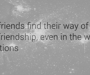 advice, friendship, and quote image