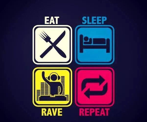 eat, psy, and rave image