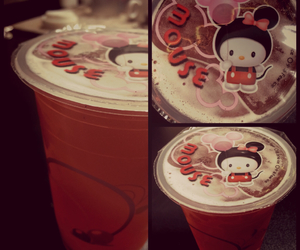 bubble tea, yummy, and drink image