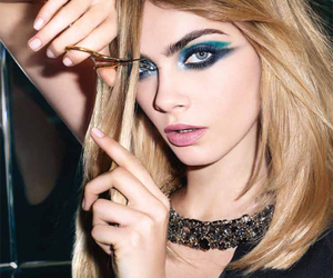cara delevingne, model, and make up image