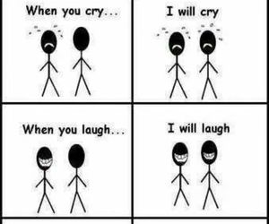 funny, friends, and friendship image