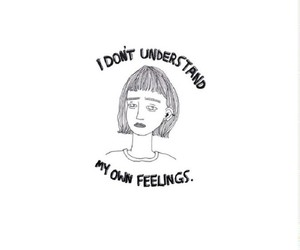 feelings, girl, and sad image
