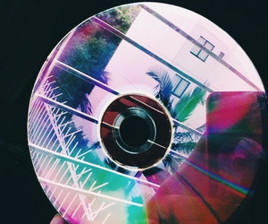 cd, colors, and girl image