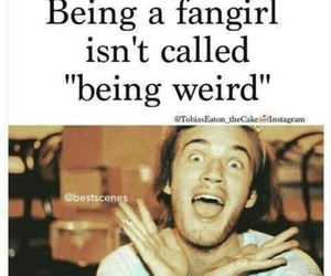 fangirl, fabulous, and pewdiepie image