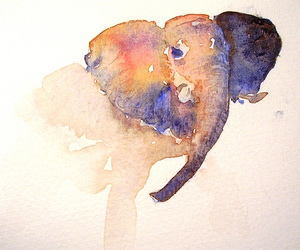 art, water colours, and creative image