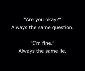 lies, quotes, and question image