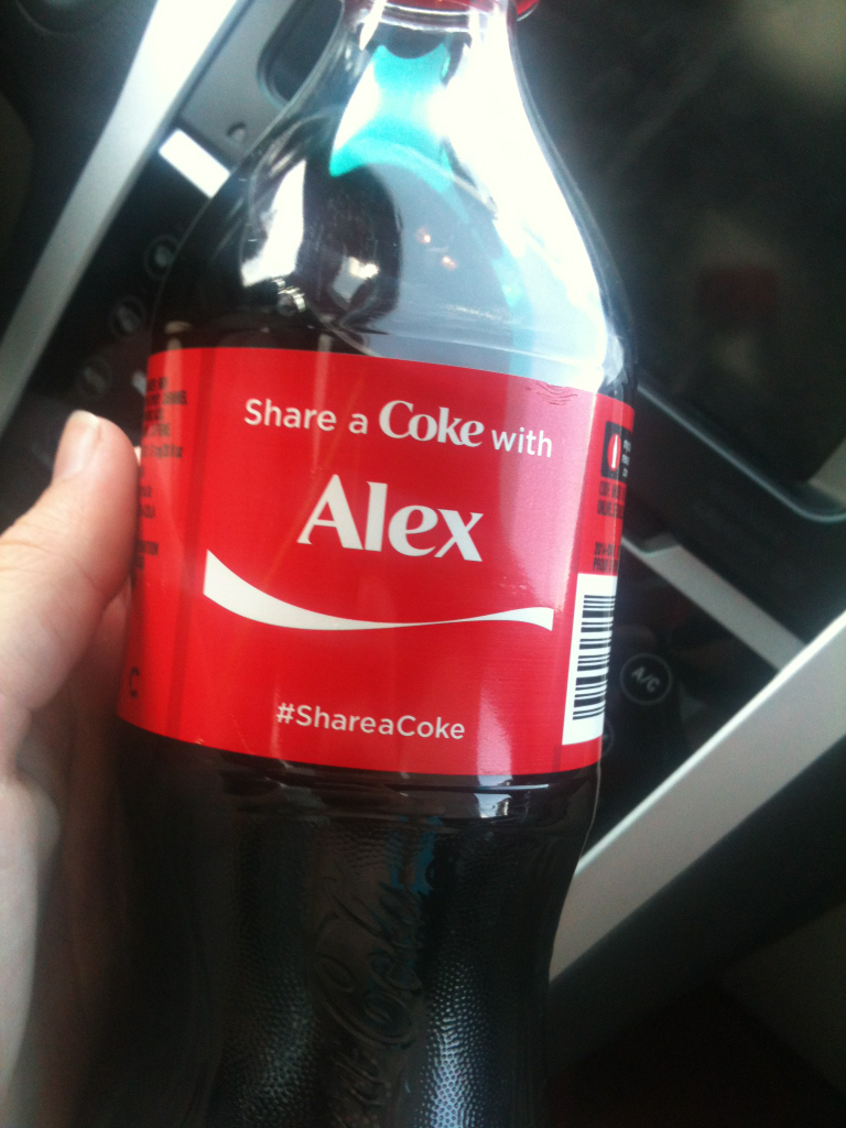 alex, coke, and my name image