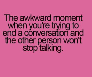 conversation and awkward image