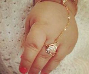baby, hand, and Braclet image