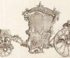 carriage, vintage, and art image