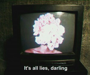 flowers, lies, and grunge image