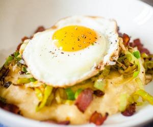 egg, yummi, and food image