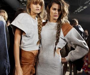 model, fashion, and girl image