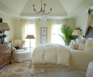 bedroom decor, interior design, and neutrals image