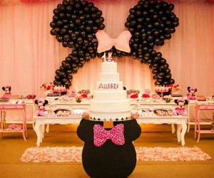 festa, party, and minniemouse image