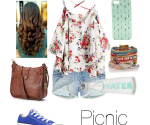 outfit, picnic, and outfit idea image