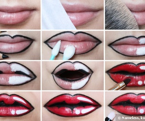 comic, diy, and lips image