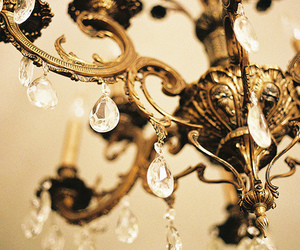 chandelier, diamond, and light image